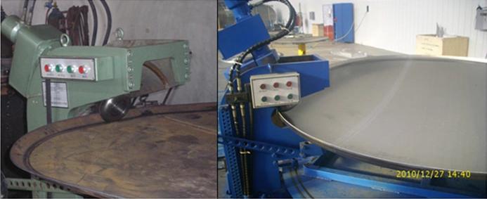 异形封头机旋压机磨边机铝制罐头冲模制造机(图1)