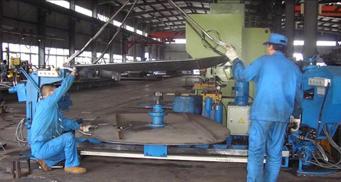 异形封头机旋压机磨边机铝制罐头冲模制造机(图2)