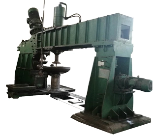 hydraulic 6 meters head dished end spinning flanging machine for sale (图3)